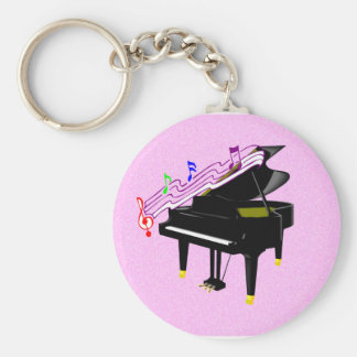 Piano Keychain