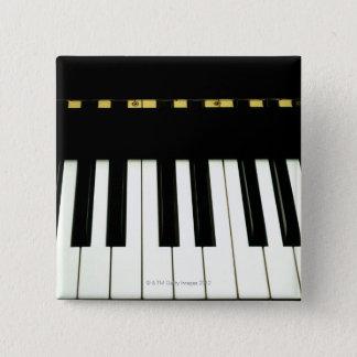 Piano Keys 15 Cm Square Badge