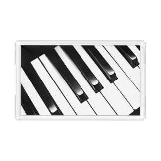 Piano Keys Acrylic Tray