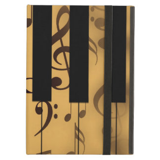 Piano Keys and Musical Notes iPad Air Cover