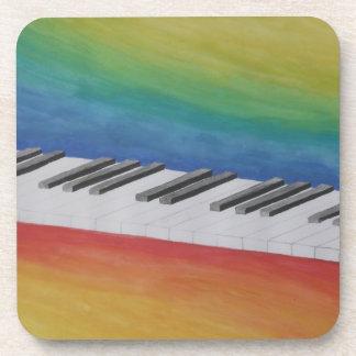 Piano Keys Beverage Coaster