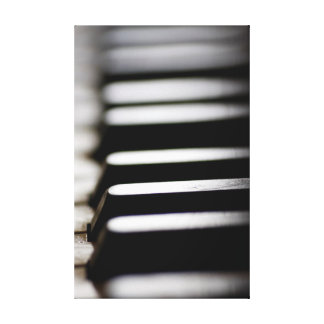 Piano Keys Canvas Prints