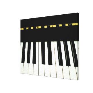 Piano Keys Gallery Wrap Canvas