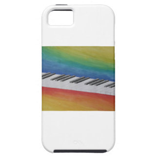 Piano Keys Tough iPhone 5 Case