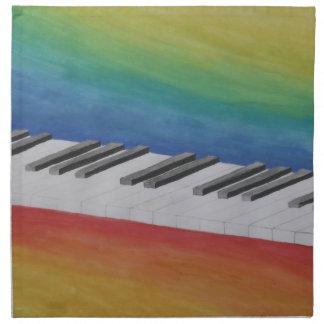 Piano Keys Napkins