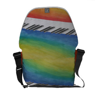 Piano Keys Commuter Bags