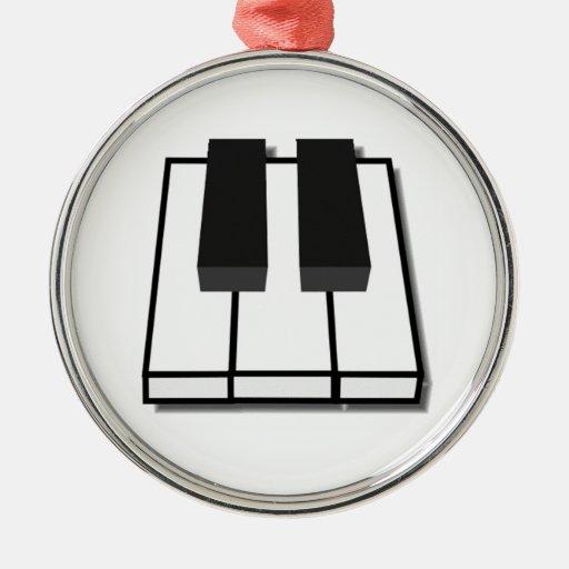 Piano Keys Christmas Tree Ornament