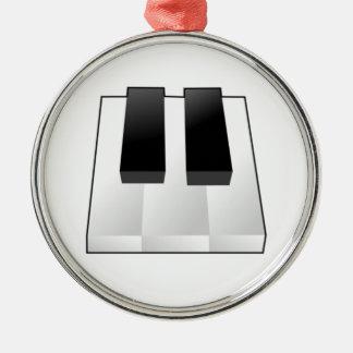 Piano Keys Christmas Ornaments