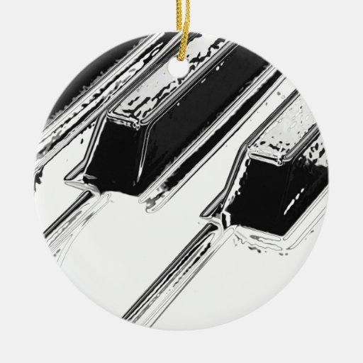 Piano Keys Ornaments