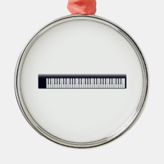 Piano Keys Christmas Tree Ornaments