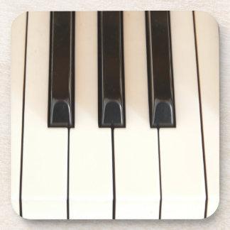 Piano Keys Drink Coaster