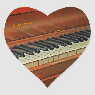 Piano Keys Fun Reward Stickers