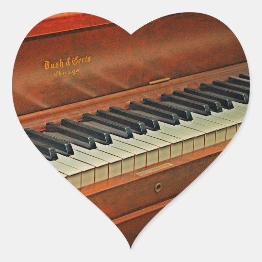 Piano Keys Fun Reward Stickers