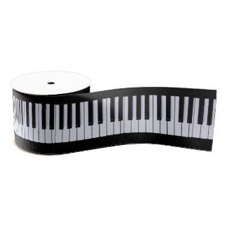 Piano Keys Grosgrain Ribbon