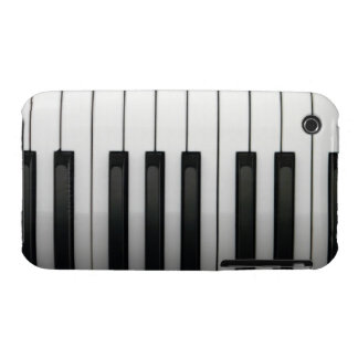 piano keys iPhone 3 Case-Mate cases