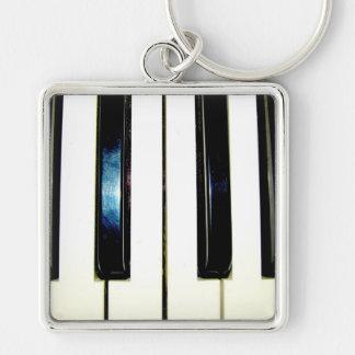 Piano Keys Key Chain