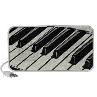 Piano Keys Laptop Speakers