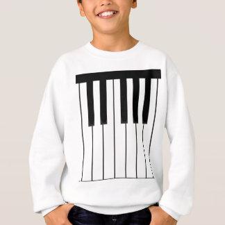 piano keys long.pdf sweatshirt