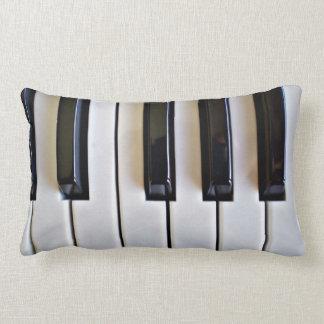 Piano Keys Lumbar Cushion