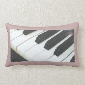 Piano keys lumbar pillow. lumbar cushion
