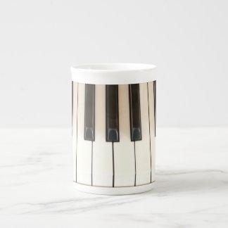 Piano Keys Bone China Mug