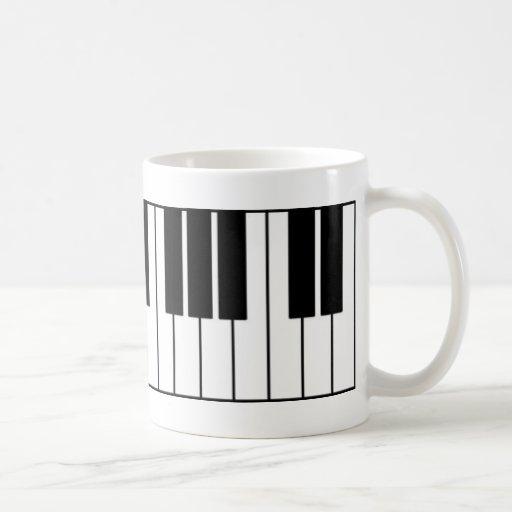 Piano Keys Mugs