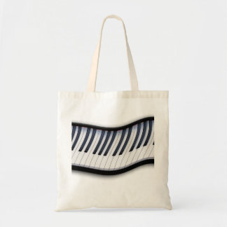 PIANO KEYS Music Lover Carry Tote Bag