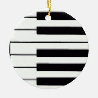 Piano Keys Music Ornament