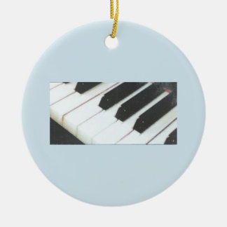 Piano Keys Ornament