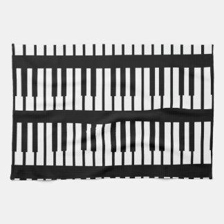 Piano Keys Pattern Tea Towel