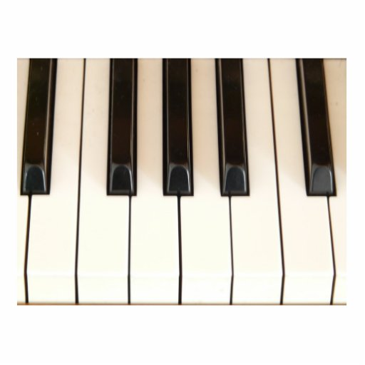 Piano Keys Cut Out