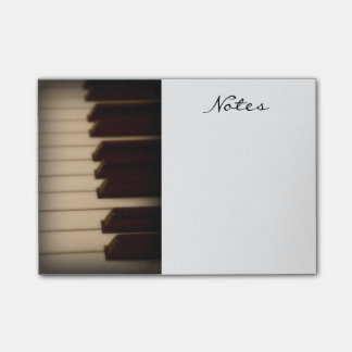 Piano Keys Post it Notes