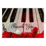Piano Keys,Roses & Music Notes_