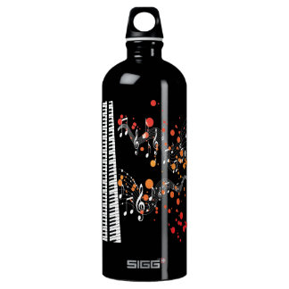 piano keys SIGG traveller 1.0L water bottle