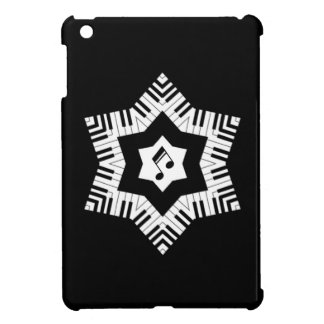 Piano Keys Star Cover For The iPad Mini