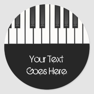Piano Keys Stickers