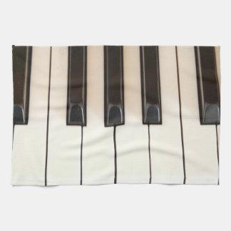 Piano Keys Tea Towel