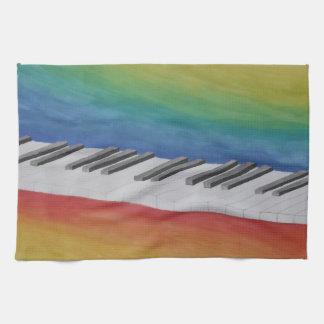 Piano Keys Towels