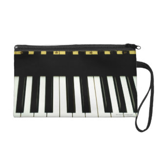Piano Keys Wristlet
