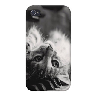 'Piano Kitten' iPhone Case Case For iPhone 4