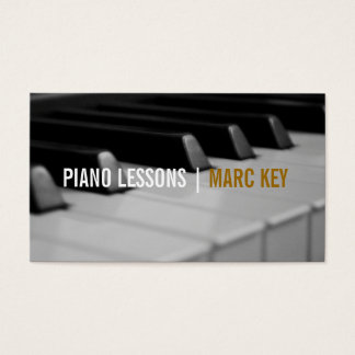 Piano Lessons, Music Instructor