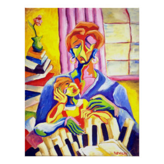 PIANO LESSONS POSTERS