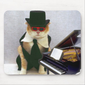 Piano Man Mouse Pad