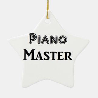 Piano Master Ceramic Star Decoration