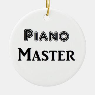 Piano Master Round Ceramic Decoration