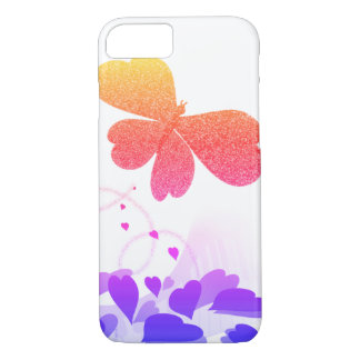 Piano Melody~ Sparkling Butterfly iPhone 8/7 Case
