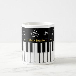 Piano Mug - Personalise Name