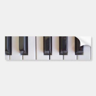 Piano Music Bumper Sticker