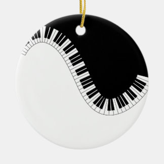 PIANO MUSIC CHRISTMAS ORNAMENT