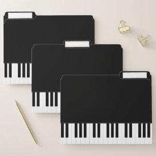 PIANO MUSIC FILE FOLDER